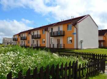 Общий вид домов ЖК Кивеннапа Юго-Запад